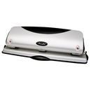 Swingline Three-Hole Punch, 3 Punch Head(s) - 12 Sheet Capacity - 9/32