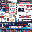 Teacher Created Resources Nautical Board Combo Set, TCR9462