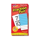 Trend Fraction Fun Flash Card, Trend Fraction Fun Flash Card