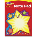 Trend Super Star Shaped Note Pad