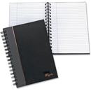 TOPS Sophisticated Business Notebook, 96 Sheet - 20 lb - Ruled - 5.88