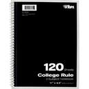 TOPS 3-Subject Notebook