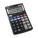 Victor 11803A Business Calculator, 12 Character(s) - LCD - Battery/Solar Powered - 1.1