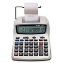 Victor 12082 Printing Calculator, 12 Character(s) - LCD - AC Supply/Power Adapter Powered - 1.5