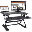 Victor High Rise Height Adjustable Standing Desk with Keyboard Tray (31