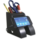 Victor Smart Charge Pencil Cup w/USB Hub, Black