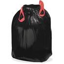 Webster Drawstring Trash Liner, 33 gal - 1.20 mil (30 Micron) Thickness - Resin - 150/Box - Black
