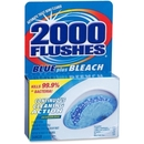 WD-40 2000 Flushes Toilet Bowl with Bleach & Blue Detergent, Tablet - 3.50 oz (0.22 lb)