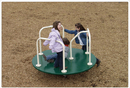 SportsPlay 301-142G Merry-Go-Round- 6' Tan and Green