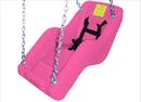 SportsPlay 382-411P Jenn Swing ADA Seat - Bubble Gum Pink