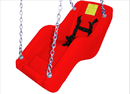 SportsPlay 382-411R Jenn Swing ADA Seat - Fire Engine Red