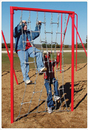 SportsPlay 511-103 Boarding Net - Galvanized