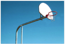 SportsPlay 541-936 Tandem Six Basketball Backstop