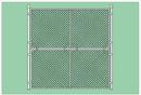 SportsPlay 551-110 Prefabricated Baseball/Softball Backstop