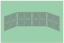 SportsPlay 551-420 Prefabricated Baseball/Softball Backstop
