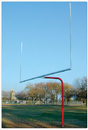 SportsPlay 561-445 Single Post Pitchfork Goal (pair)