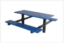 SportsPlay 601-649 Double Cantilever Table w/ 4