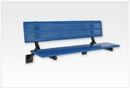 SportsPlay 601-691 Team Bench w/ Back, 10' Beveled Perforated