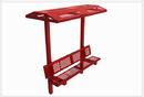 SportsPlay 602-760 8' Single Bench with Shade