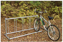 SportsPlay 801-178 Single Entry Bike Rack - Permanent, 20 ft