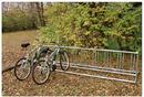 SportsPlay 802-188 Double Entry Bike Rack - Portable, 10 ft