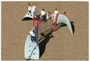 SportsPlay 902-761 Three Panel Rope Aztec Climber
