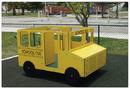 SportsPlay 902-812B School Bus Multi Spring Rider