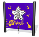SportsPlay 922-214-F Bells Musical Play, freestanding; plastic in standard color