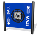 SportsPlay 922-217-F Ball Maze, freestanding, plastic in standard color