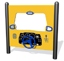 SportsPlay 922-222-F Driving Panel, freestanding, plastic in standard color