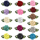Muka 200 Pcs Ribbon Bows Roses Artificial Flowers Wedding Decoration Applique/trim/bow/Sewing Craft