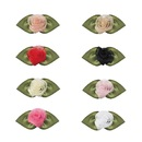 Muka 200 Pcs DIY Polyester Organza Ribbon Bows Flowers Sewing Ornament Applique
