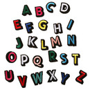 Muka 1 Pc Alphabet Patch Iron-on & Sew-on Letter Applique Patchs for Clothing DIY Craft
