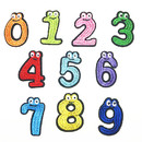 Muka 50 Pcs Cute Embroidery Number Patches 0 - 9 Iron-on Applique DIY Sewing Accessories for Clothes Shoes Hat Jeans