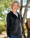 Weatherproof W20121 Women's HeatLast™ Fleece Faux Cashmere Full-Zip Hooded Sweatshirt