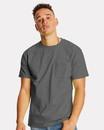 Hanes 5590 Authentic Short Sleeve Pocket T-Shirt
