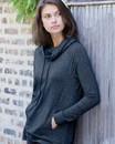 Weatherproof W18706 Women's HeatLast™ Fleece Faux Cashmere Funnel Neck Sweatshirt