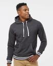 J.America 8649 Relay Fleece Hooded Sweatshirt