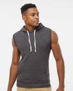 J.America 8877 Triblend Sleeveless Hooded Sweatshirt