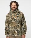 J.America 8879 Gaiter Fleece Hooded Sweatshirt