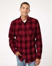 Burnside 8210 Yarn-Dyed Long Sleeve Flannel Shirt