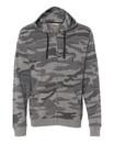 Burnside 8615 Camo Full-Zip Hooded Sweatshirt