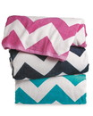 Carmel Towel C3060X Chevron Velour Beach Towel