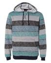 Burnside 8603 Printed Stripes Fleece Sweatshirt