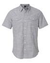 Burnside 9247 Textured Solid Short Sleeve Shirt