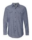 Burnside 8255 Chambray Long Sleeve Shirt