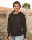 J.America 8912 Women's Zen Fleece Hooded Sweatshirt