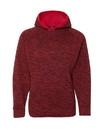 J.America 8610 Youth Cosmic Fleece Hooded Sweatshirt