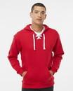 J.America 8830 Sport Lace Hooded Sweatshirt