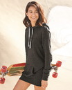 Independent Trading PRM65DRS Women's Special Blend Hooded Sweatshirt Dress